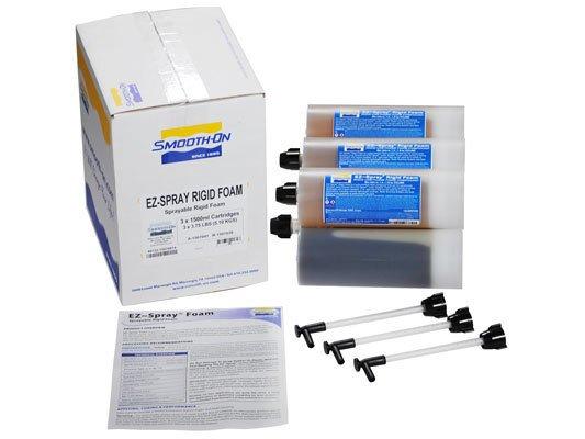Smooth-On EZ-Spray Rigid Foam-8 Cartidges Special Order Case of 3 1500ml