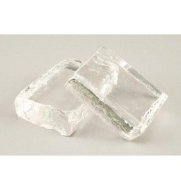 Amaco Clear Billet Chunks for Glass Casting 2lbs