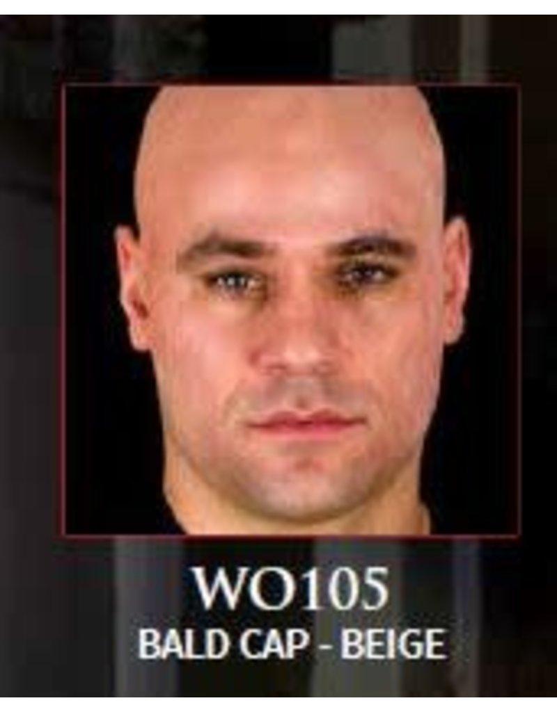 Woochie Latex Bald Cap Beige