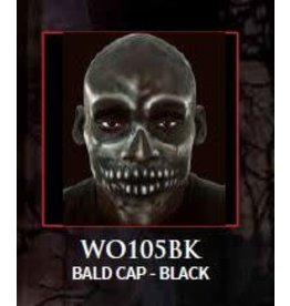 Woochie Latex Bald Cap Black