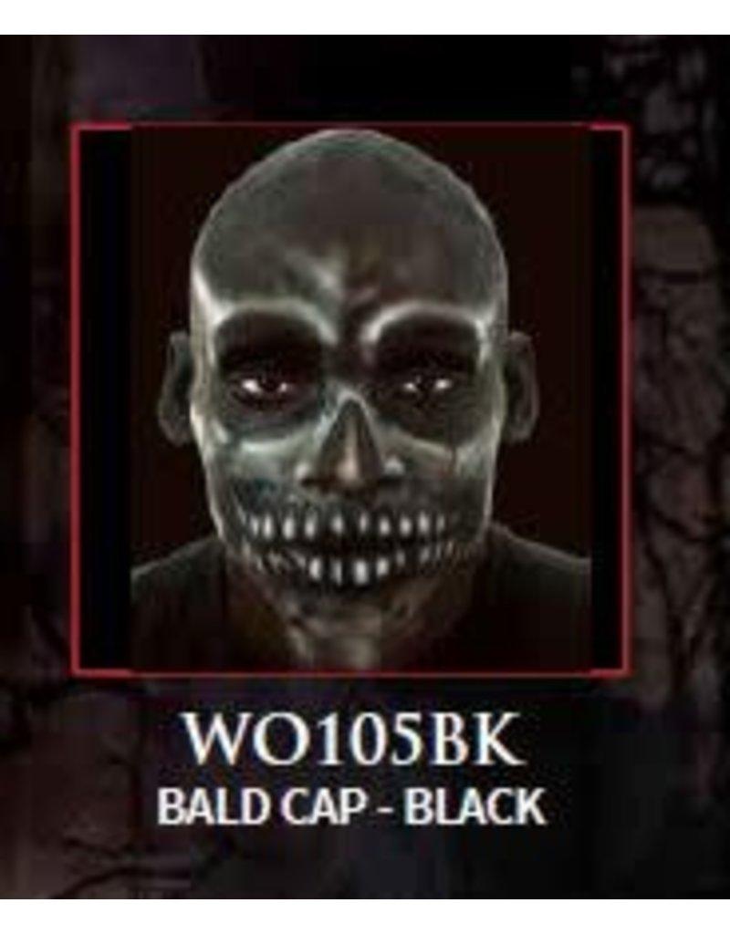 Woochie Latex Bald Cap Black