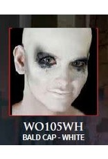 Woochie Latex Bald Cap White