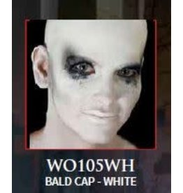 Woochie Latex Bald Cap White