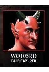 Woochie Latex Bald Cap Red