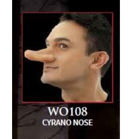Woochie Latex Nose Appliance Cyrano