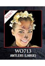 Woochie Latex Horns Faun Antlers Large