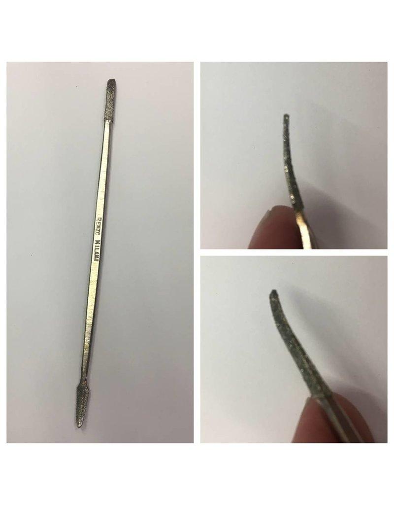 Milani Diamond Riffler #4 6'' (15cm)