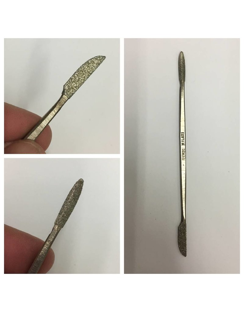 Milani Diamond Riffler #8 6'' (15cm)