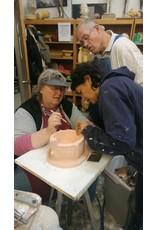 TCS Classes 1208 Mold-Making Hands-On Intensive Workshop December 8-10, 2017