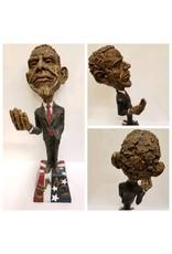 "Obama Sculpture ""Spare Change"""