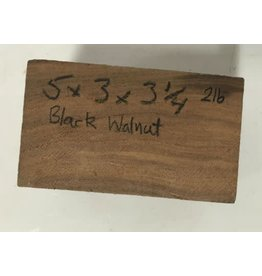 Black Walnut 5x3.25x3 #030200