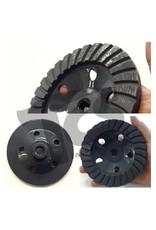 5 Inch Diamond Grinding Turbo Cup Wheel Coarse