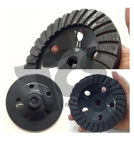 5 Inch Diamond Grinding Turbo Cup Wheel Coarse