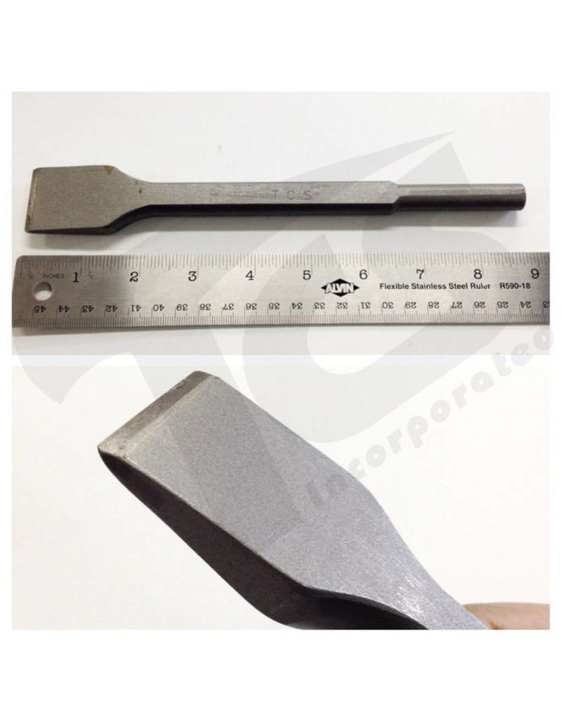 Trow & Holden Carbide Pneumatic Marble Cutting Flat 1-1/4''