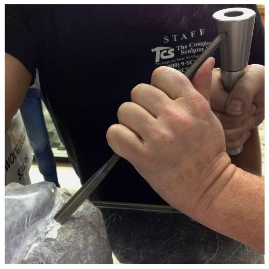Milani Milani Steel Hand Mini Stone Gouge 8mm