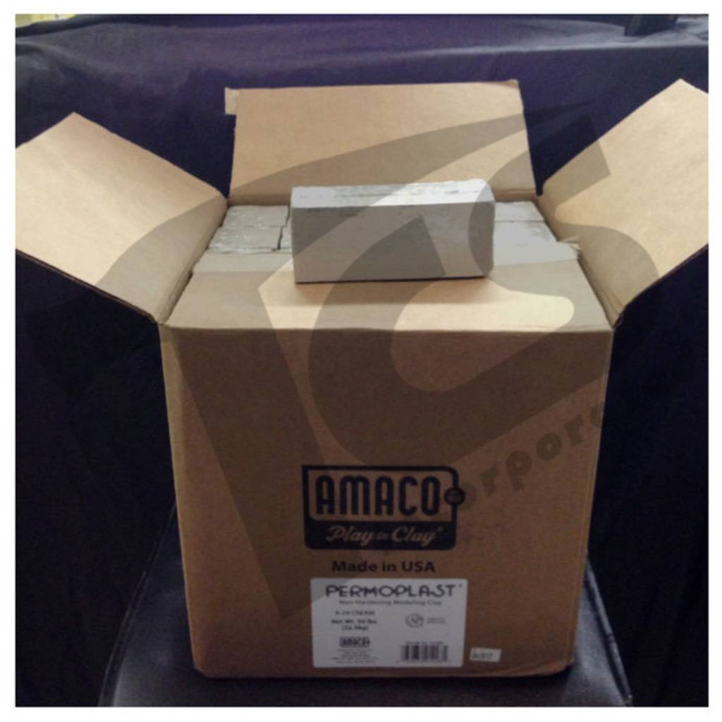 Amaco Permoplast Cream 50lb Case