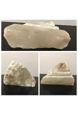 11lb Mario's White Translucent Alabaster 11x7x3 #101061