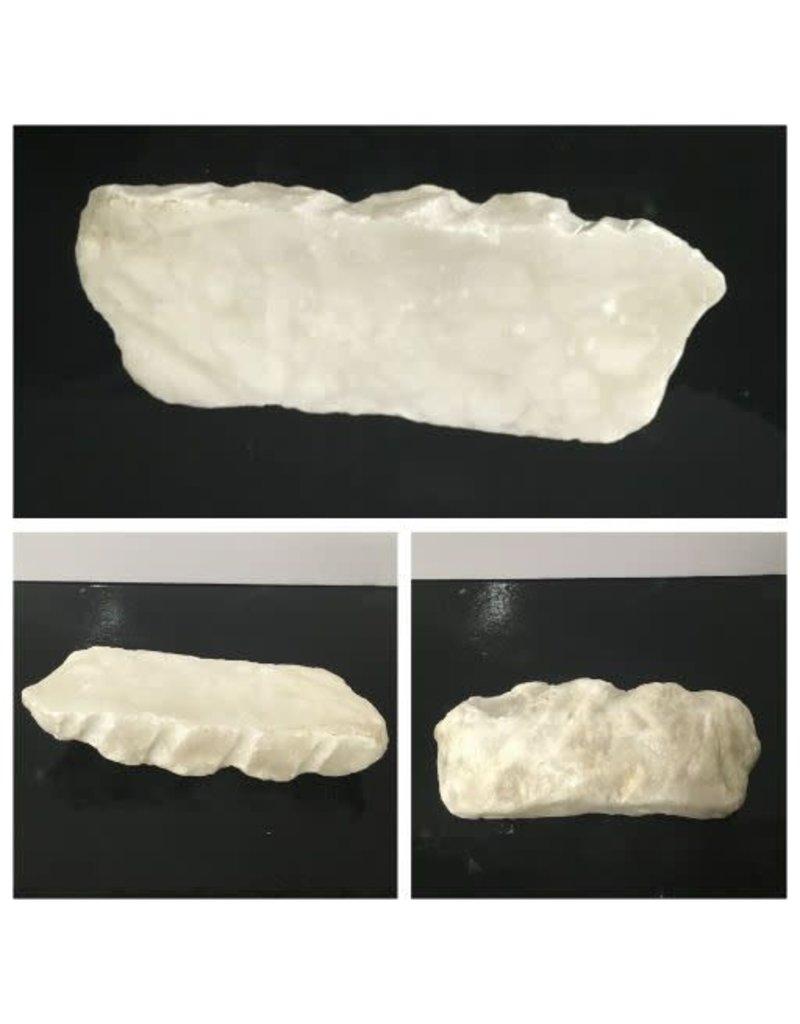 7lb Mario's White Translucent Alabaster 12x4x2 #101062