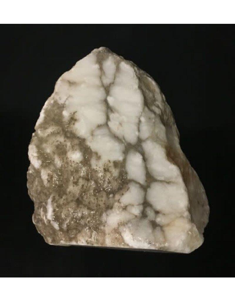 8lb Tirafsci's Opaque White Boulder 8x7x3 #111072