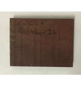 Rosewood 8x6x1 #151004