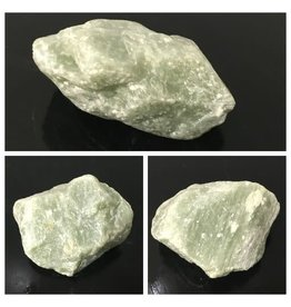 4lb Apple Green Soapstone 5x5x2 #021033
