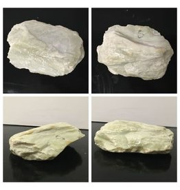 6lb Apple Green Soapstone 8x5x1 #021029