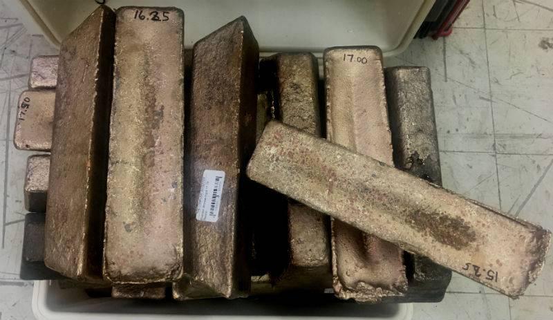 Everdur Bronze Ingots