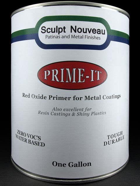 Sculpt Nouveau Prime-It Red Oxide Gallon Special Order