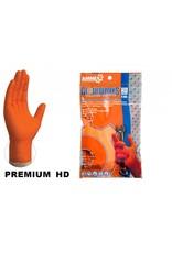 Gloveworks Nitrile HD Orange Gloves 6 pack