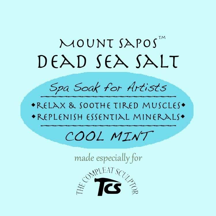 Mount Sapos Dead Sea Bath Salts Cooling, 6 oz