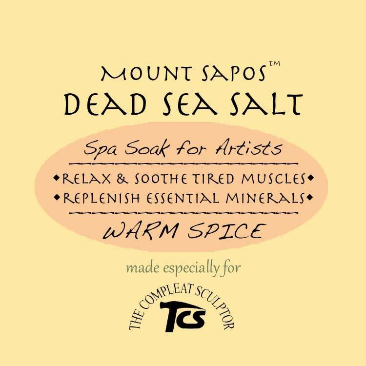 Mount Sapos Dead Sea Bath Salts Warming, 6 oz