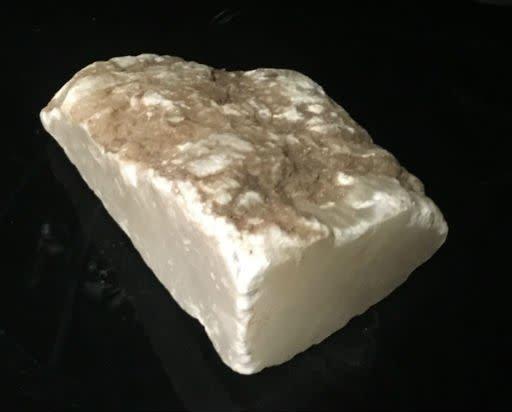 8lb Mario's White Translucent Alabaster 8x5x3 #101069