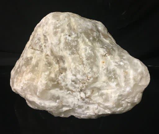 73lb Mario's White Translucent Alabaster 10x10x10 #101073