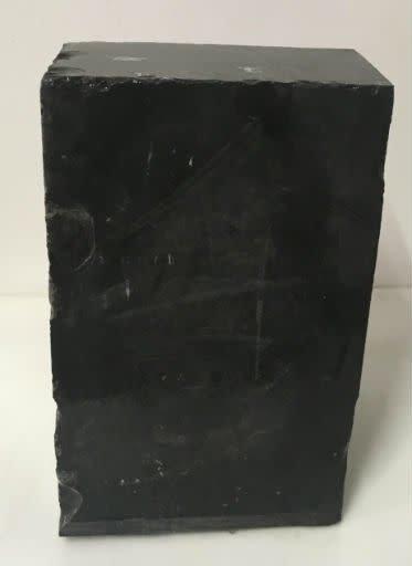 46lb Belgian Black Marble 12x7x6 #001001