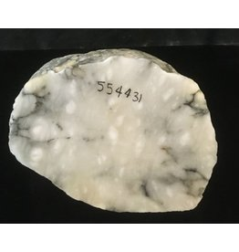 33lb Mario's Italian Bardiglio Alabaster Boulder 10x9x8 #554431