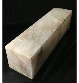 67lb Mario's Translucent White Alabaster 22x6x5 #101076