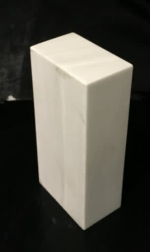 Marble Base 10x4.75x3 White Carrara #991016
