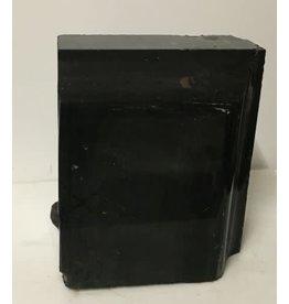 69lb Black Belgian Marble 12x10x6 #001008