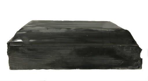 126lb Black Belgian Marble 20x11x6 #001006