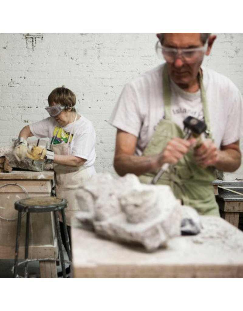 180404 Stone Carving Wednesday Evening Class/April