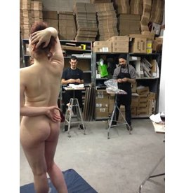 Just Sculpt 180218 Studio Time With A Live Model February 18th