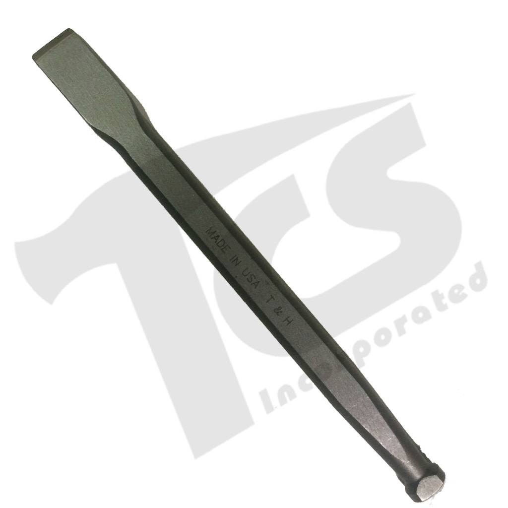 Trow & Holden Carbide Mallethead Flat 3/4'' Head 1/2'' Stock