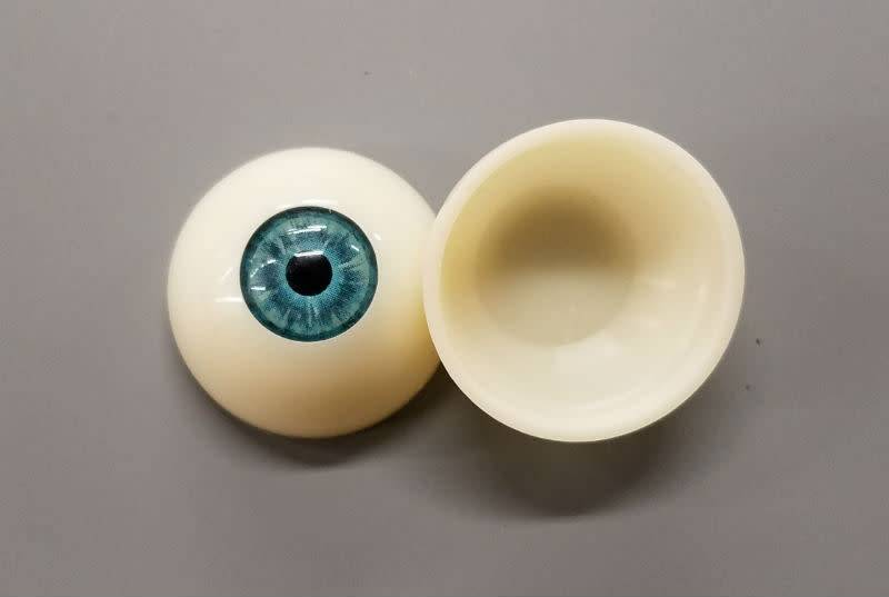Acrylic Eyes 30mm Blue (Pair)