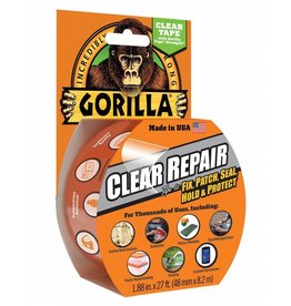 3M Gorilla Tape Crystal Clear 1.88x9yd
