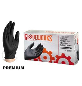 Vinyl Gloves Black