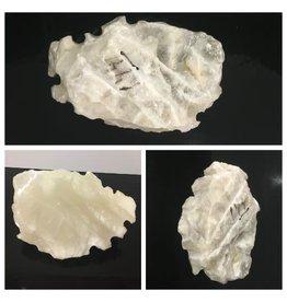 10lb Mario's White Translucent Alabaster 11x8x4 #101064