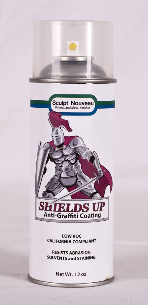 Sculpt Nouveau Shields Up Anti-Graffiti Coating 12oz Spray Can