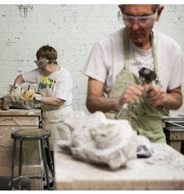 180502 Stone Carving Wednesday Evening Class/April