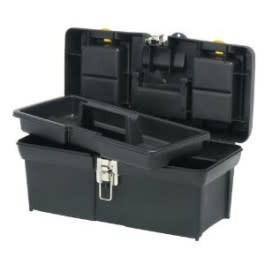 Tool Box with Tray