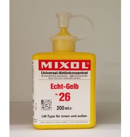 Mixol Mixol #26 True Yellow 200ml